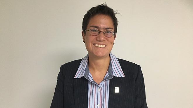 Carina Vance, directora ejecutiva del ISAGS.