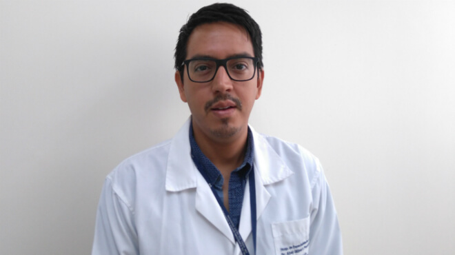 Carlos Cedeño, coordinador de Calidad del Hospital Abel Gilbert Pontón