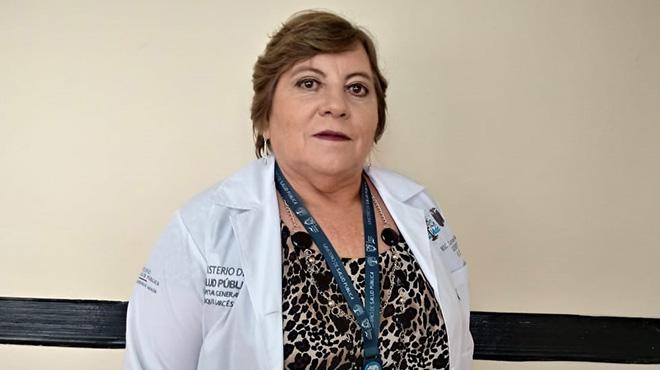 Carmen Alarc�n, gerente HEG.