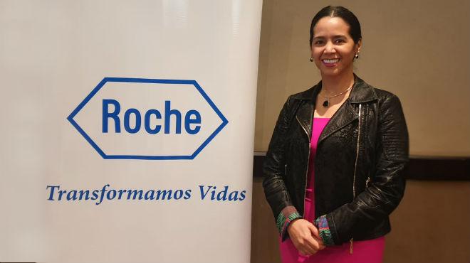 Carol Moreno, directora m�dica de ROCHE Ecuador.