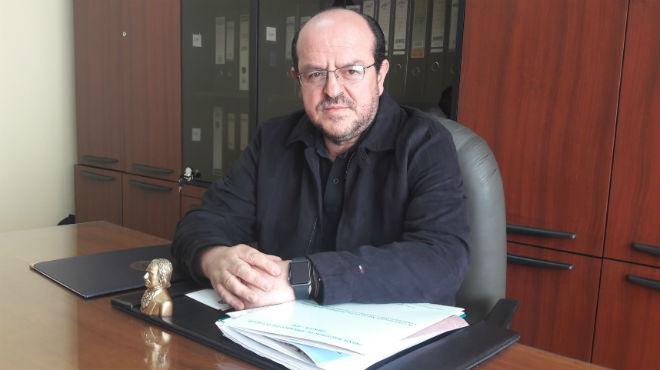 Santiago Carrasco, presidente del Colegio Médico de Pichincha.