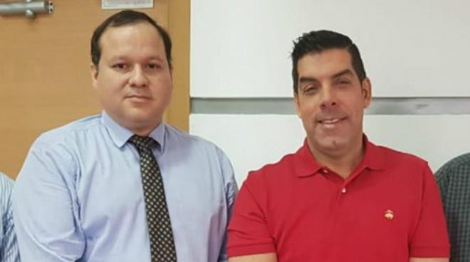 Ernesto Carrasco y Ra�l Ledesma.