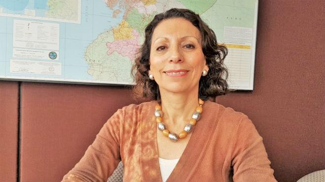 Cecilia Acu�a, representante de la Organizaci�n Panamericana de la Salud en Ecuador.