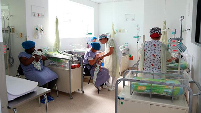 �rea de neonatolog�a del Hospital San Francisco del IESS.