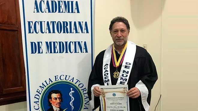 C�sar Paz y Mi�o, investigador en Gen�tica Humana.
