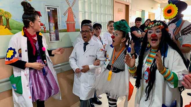 Clowns hospitalarios.
