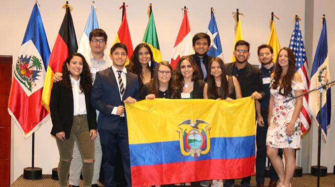Reuni�n Regional de las Am�ricas de la Asociaci�n Internacional de Estudiantes.