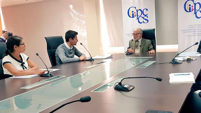 Wilson Merino expuso sus argumentos en el CPCCS
