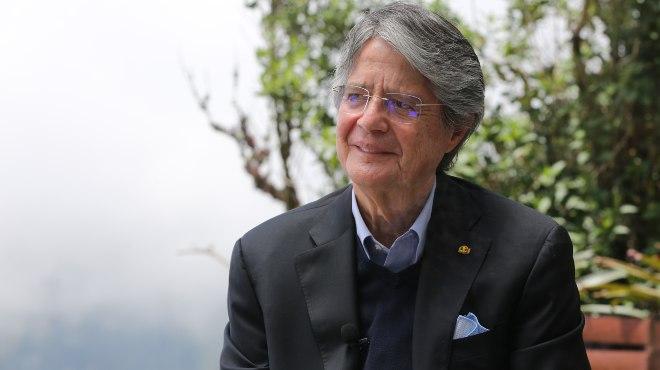 Guillermo Lasso, presidente de la Rep�blica.