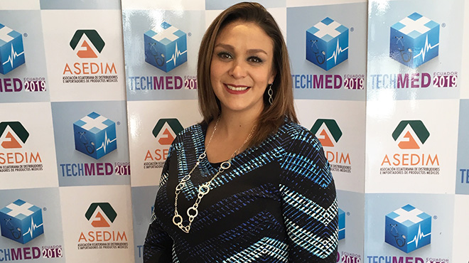 Cristina Murgueitio, directora ejecutiva de Asedim.