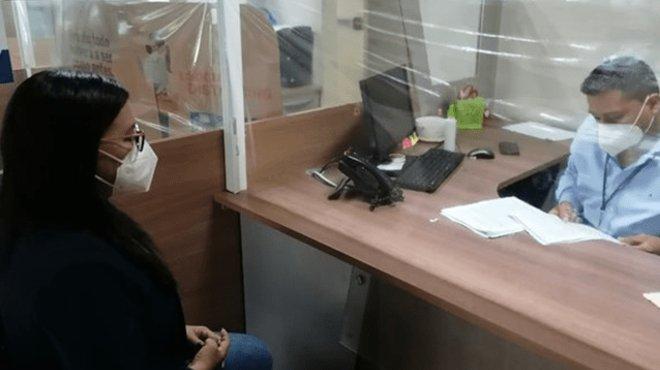 Zaida Rovira Jurado, vicedefensora del Pueblo, presenta la garantía jurisdiccional.