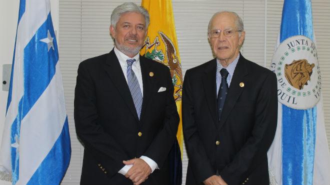 Juan Xavier Cordovez Ortega y Ernesto Noboa Bejarano.