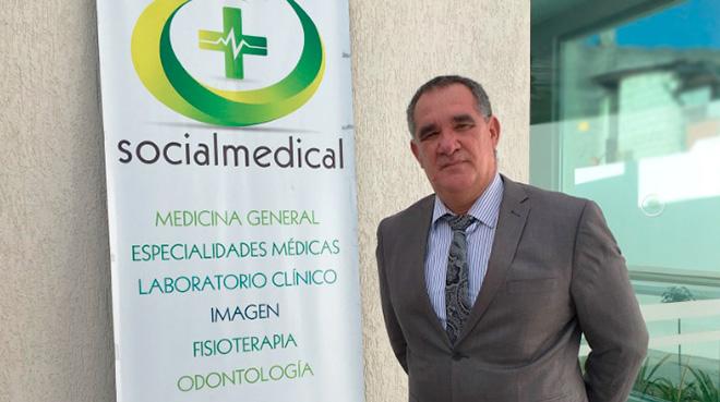 Roger Dom�nguez, director m�dico de la Cl�nica de Especialidades Socialmedical.