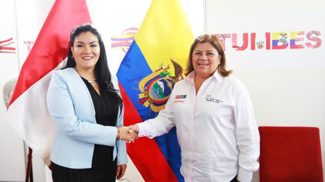 Las ministras de Salud, Catalina Andramu�o y Zulema Tom�s, han suscrito este acuerdo interinstitucional.