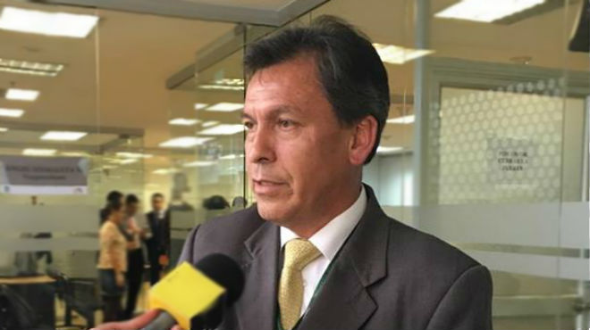 Eli�cer Quispe, representante de Ecuador en Aliber.