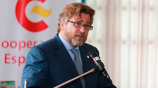 Carlos Abella y Ar�stegui, embajador de Espa�a en Ecuador.
