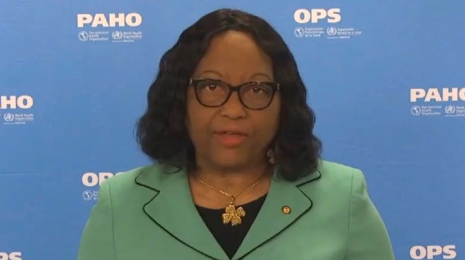 Carrisa Etienne, directora de la OPS.