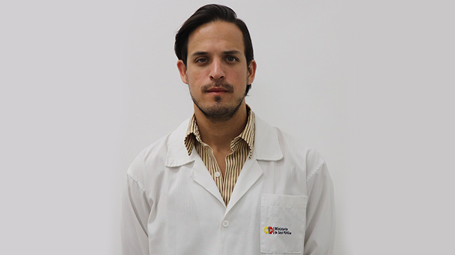 Rody Santacruz, coordinador de la Gesti�n de Calidad del HGS.