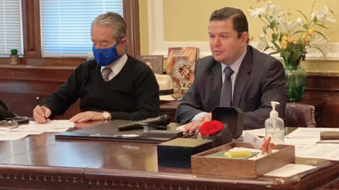 Juan Carlos Zevallos y Juan Sebasti�n Rold�n.