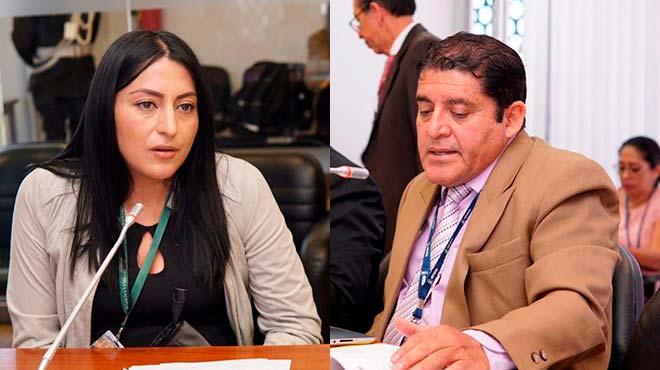 Daniela Rojas y Mauricio Espinel.