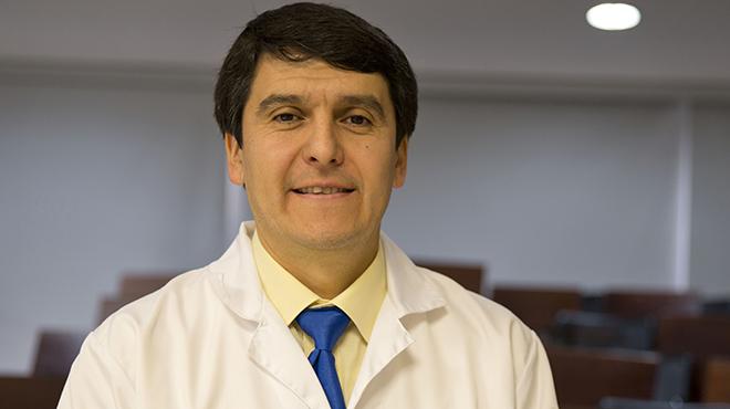 Enrique Ter�n, investigador de la USFQ.
