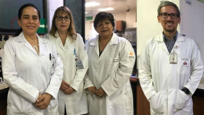 Cristina Moreno, Jeannete Zurita, Ana Paulina Celi y Juan Jos� Romero.
