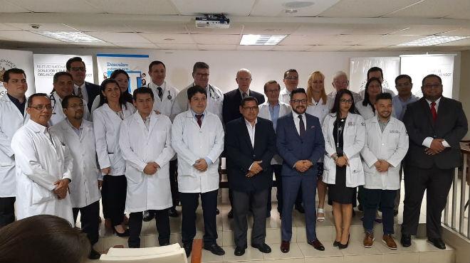 Trasplante de coraz�n Hospital Luis Vernaza.