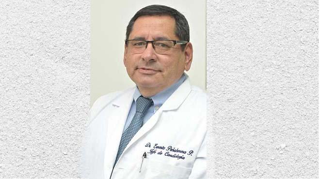 Ernesto Pe�aherra, jefe de Cardiolog�a de la JBG.