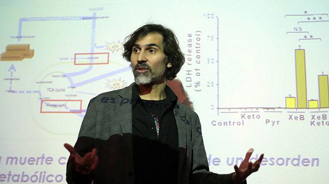 Julio C�sar C�rdenas, cient�fico chileno y pionero del mecanismo.