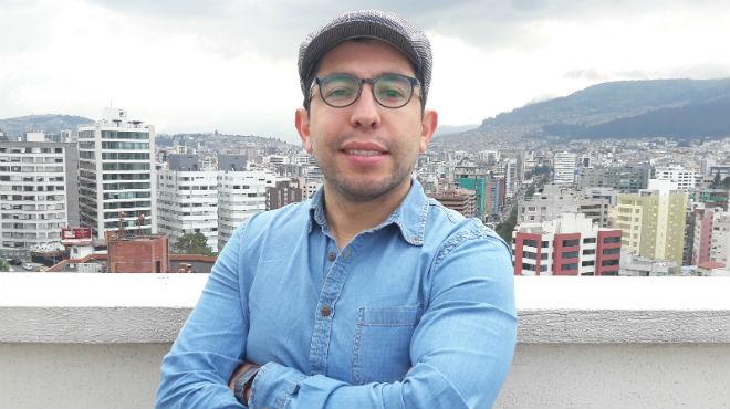 Esteban Ortiz, investigador de la UDLA.