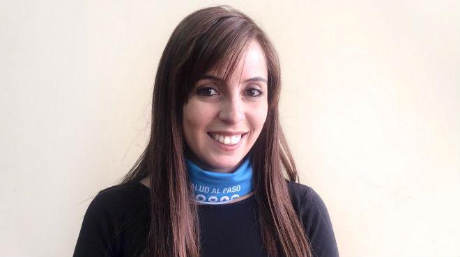 Estefan�a Su�rez, coordinadora t�cnica del proyecto Salud al Paso.