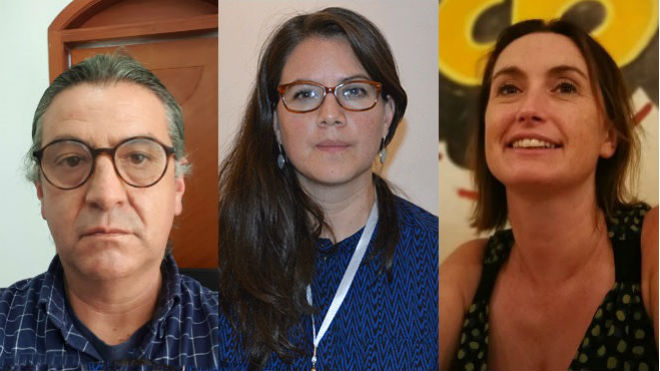 Francisco Barrera, Ana Luc�a Torres, Lucy Parker.