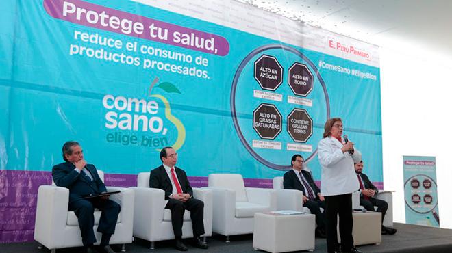 Zulema Tomás, ministra de Salud de Perú.