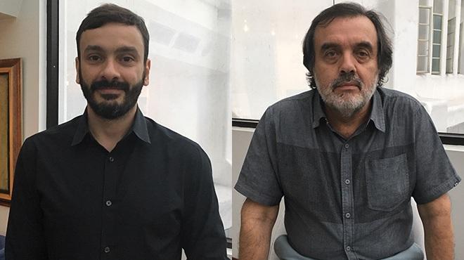 Joao Paulo Toledo y Ricardo Bustamante expertos de OPS.