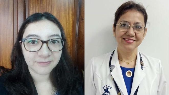 Tatiana Fern�ndez y Mariana Vallejo.