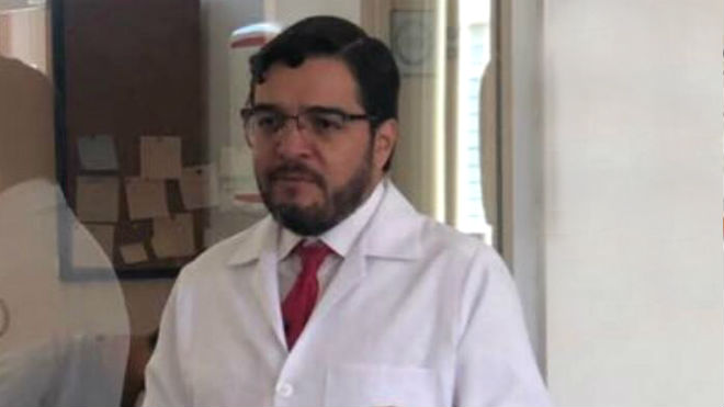 Fernando Cornejo, docente de la UTE.