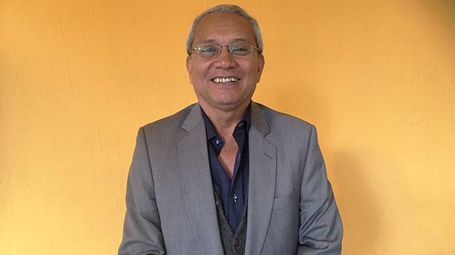 Fernando Sacoto, coordinador programa 'Pilas con las vitaminas'.