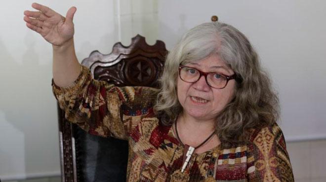 Myrna Bonaldo, jefe del Laboratorio de Biolog�a Molecular de Flavivirus de la Fundaci�n Oswaldo Cruz.