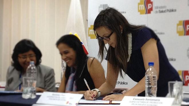Verónica Espinosa, viceministra de Gobernanza del MSP.