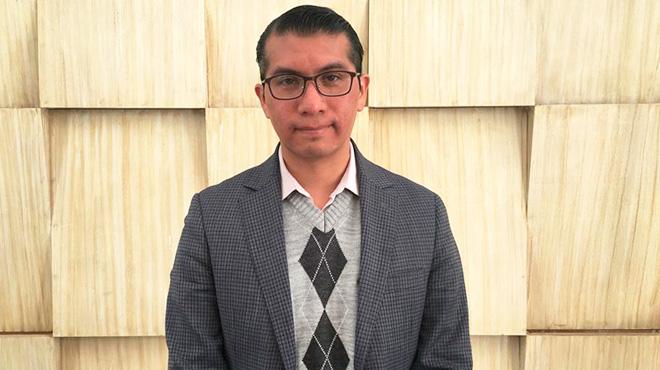 Omar Macedo, onc�logo del Instituto Nacional de Cancerolog�a de M�xico.