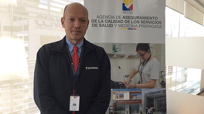Francisco Vallejo, director ejecutivo de la ACESS.
