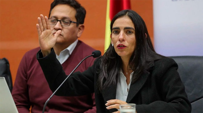 Gabriela Montaño.