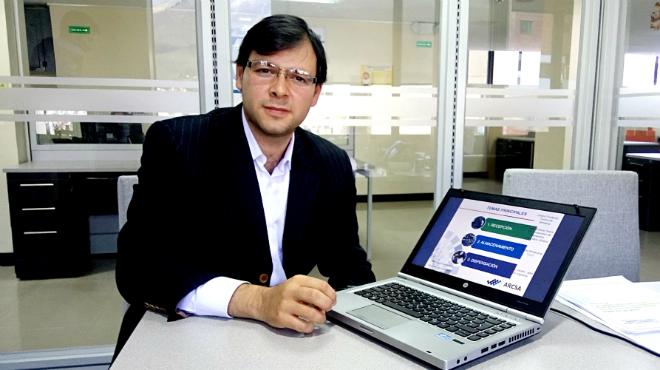 Juan Carlos Galarza, director ejecutivo Subrogante del ARCSA.