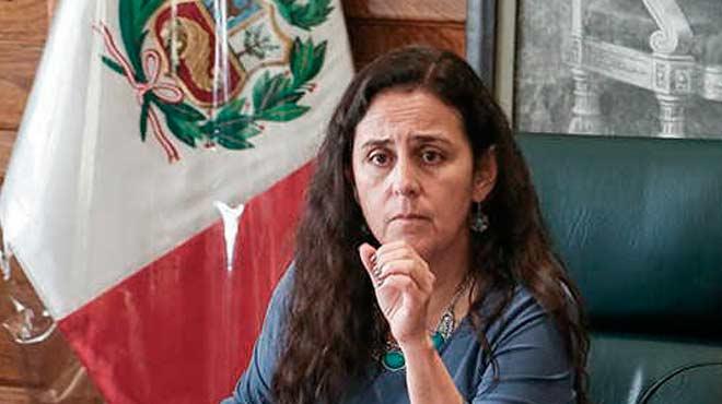 Patricia García, ministra de Salud