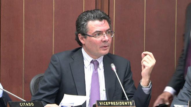 Alejadro Gaviria, ministro de Salud de Colombia.