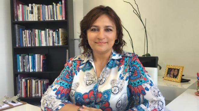 Gissela Echeverr�a, terapeuta familiar sist�mica.