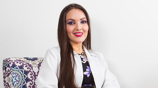 Giselle Erazo, dermato-onc�loga.