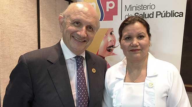 M�ximo Gonz�lez y Patricia Gavil�nez.