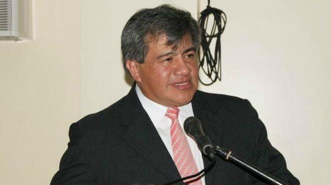 Gorky Espinosa, presidente de Federaci�n Odontol�gica Ecuatoriana.
