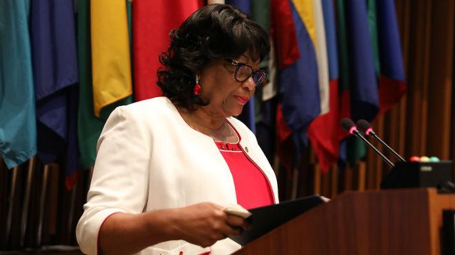 Carissa Etienne, directora OPS.